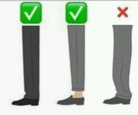 trouser length